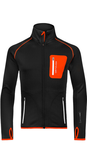Ortovox M's Fleece Jacket Black Raven II